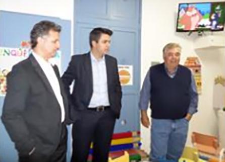 Opening of play room at Santa Casa de Misericórdia
